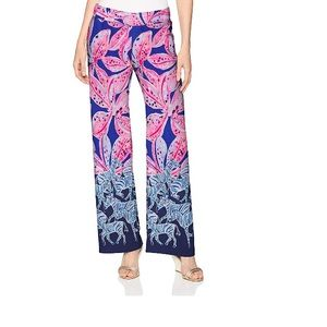 Lilly Pulitzer Bal Harbour Palazzo pants small NWT